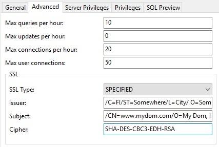 Manage MySQL Users in Navicat Premium - Part 2: Creating a