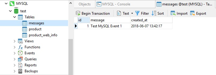 Working with MySQL Events (Part 2)
