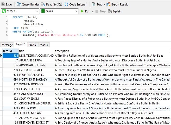 MySQL - Boolean Mode Multi